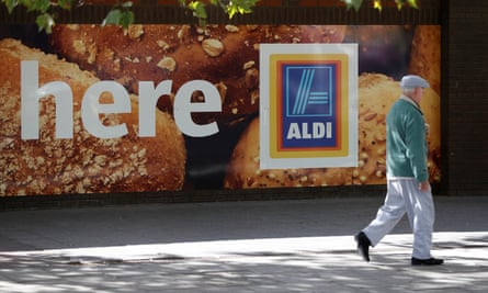 An Aldi superstore in London, a region it stayed away from in the 90s.