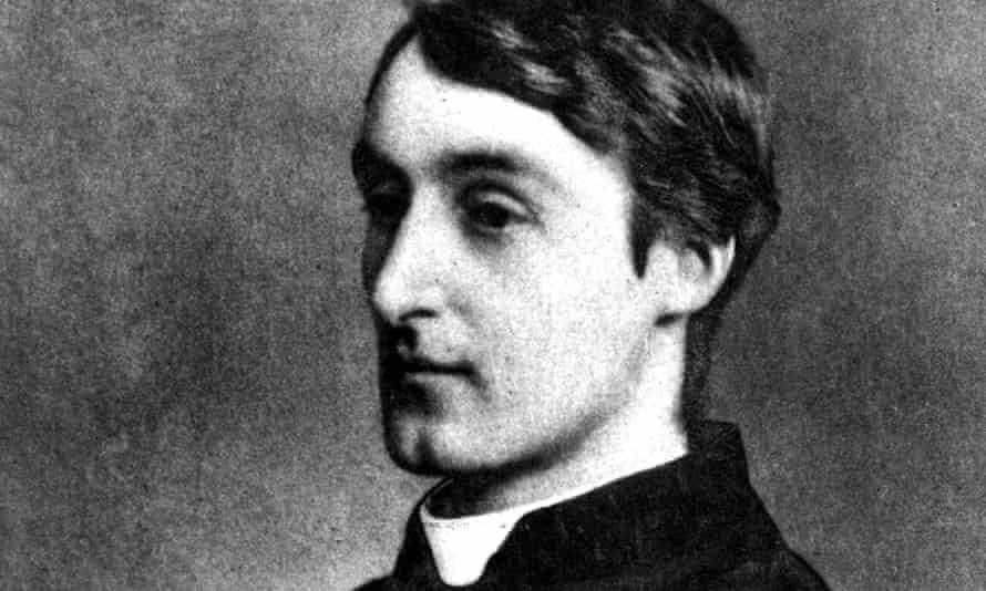 English poet Gerard Manley Hopkins, in 1888.