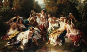 Franz Xaver Winterhalter's painting Florinda, which Victoria bought for Albert's 33rd birthday in 1852.