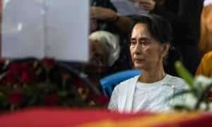 Myanmar's State Counsellor Aung San Suu Kyi has been called on to stop 'irresponsible' comments on aid workers.