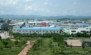 The Kaesong industrial complex, just north of the heavily armed border between the two Koreas.