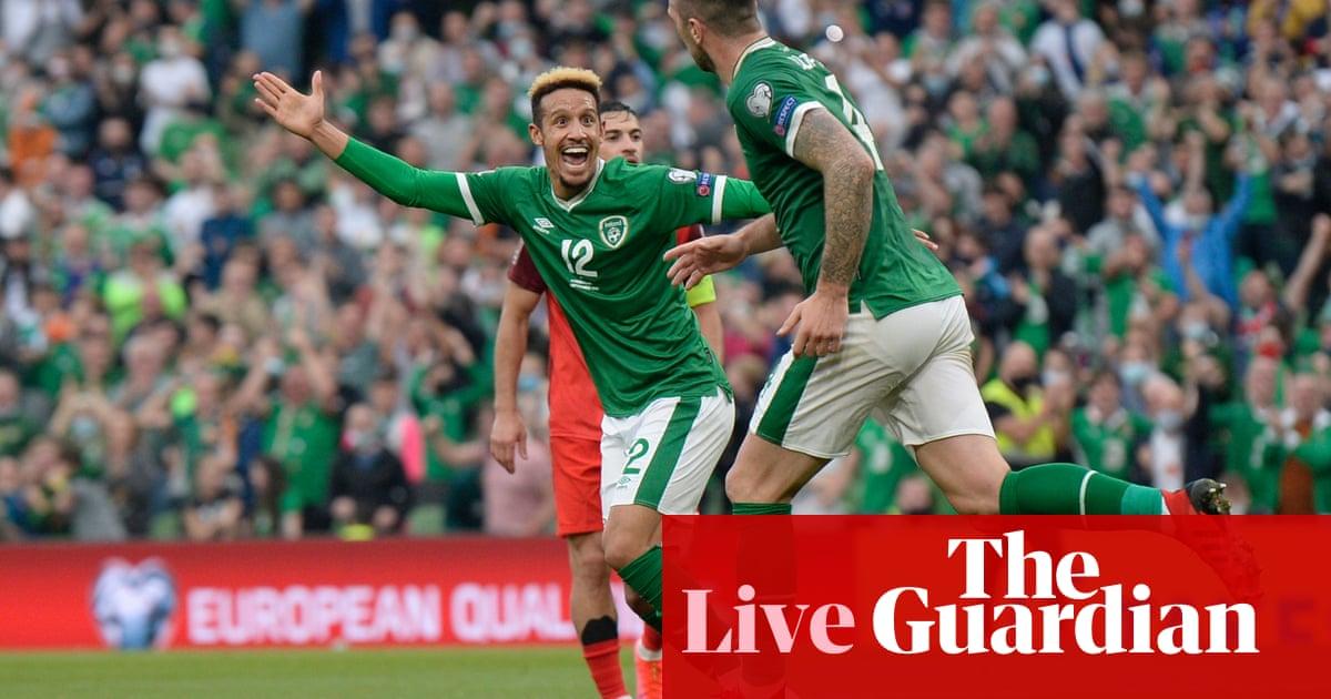 Republic of Ireland 1-1 Azerbaijan: World Cup qualifier – as it happened