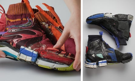 "Helen Kirkham: ""both sneakersheads and art collectors have purchased my pieces."""