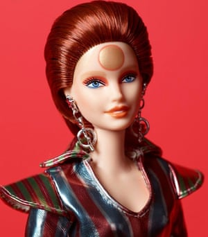 The David Bowie Barbie doll.
