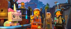 Imagine other worlds … The Lego Movie.
