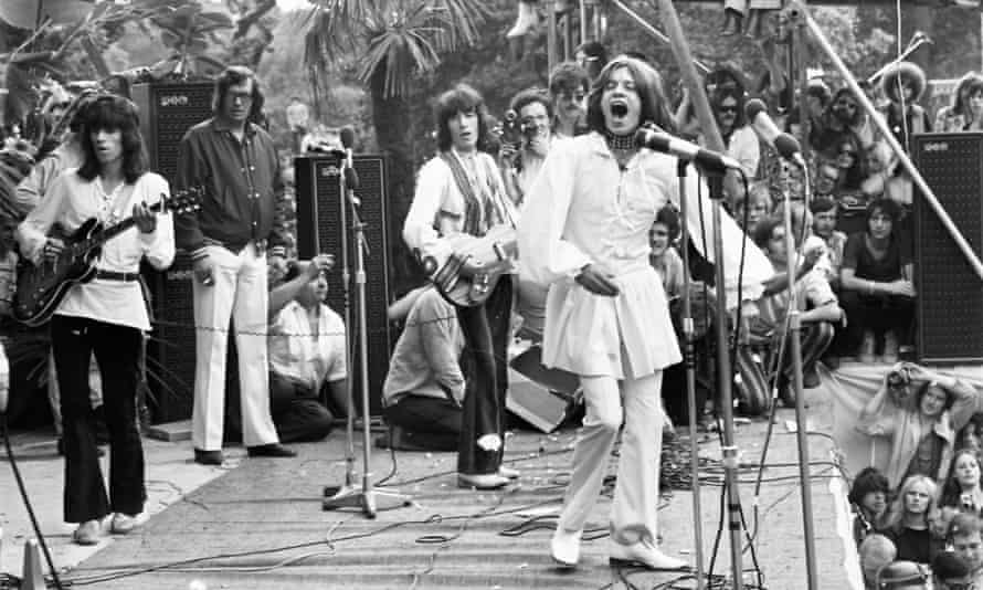 You can't always get what you want – the Rolling Stones in Hyde Park on 5 July 1969.