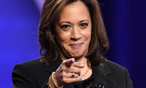 Kamala Harris during a town hall devoted to LGBTQ issues, hosted by CNN and the Human Rights Campaign Foundation, in Los Angeles, October 2019.