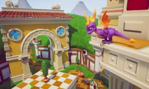 Spyro Reignited brings new detail to the classic Sunny Villa location.