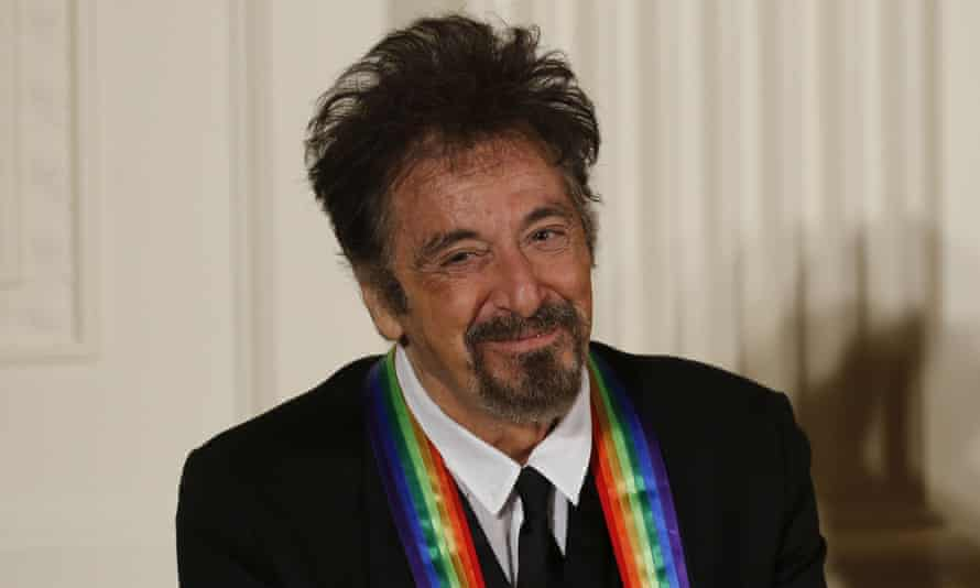 Al Pacino, who was honoured at the gala.
