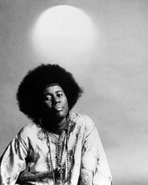 Alice Coltrane in the 70s.