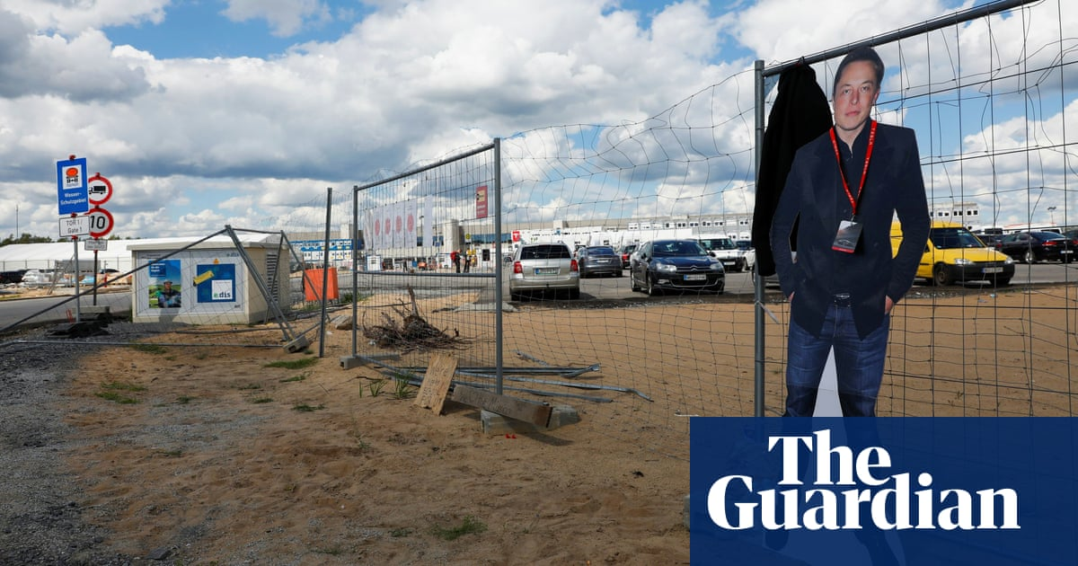 Far-left activists claim responsibility for Tesla factory site fire in Germany
