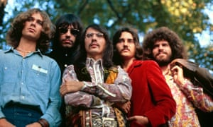 John Kay, second from left, with Steppenwolf in 1969.