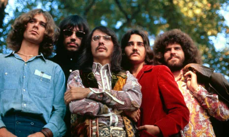'It was the hippies who dragged Hesse out of the doldrums' … the rock group Steppenwolf in 1969.