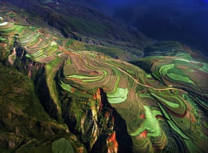 The competition – the first run by SkyPixel – attracted 27,000 entries, including this one of a rice terrace in China, which was one of our favourites.
