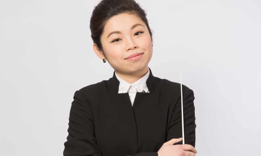 'I am proud of being a woman conductor, but I want to be seen and valued as the same as my male colleagues,' says Elim Chan.
