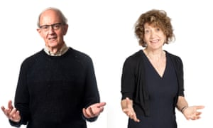 Dr Frederick Crews and Susie Orbach