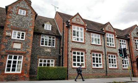 Sir William Borlase's grammar school in Marlow, Buckinghamshire.