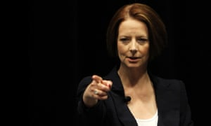 Julia Gillard as prime minister in 2012, the year she announced the royal commission
