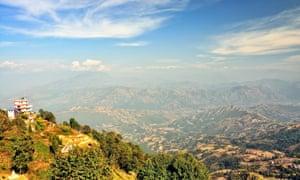 Nagarkot, east of Kathmandu, Nepal.