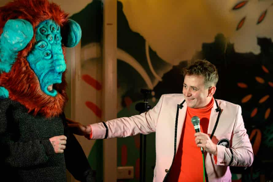 The Delightful Sausage get surreal on Grubby Comedy night at Red Bank Project.