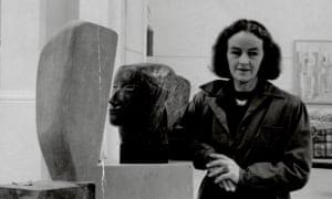 Sculptor Barbara Hepworth