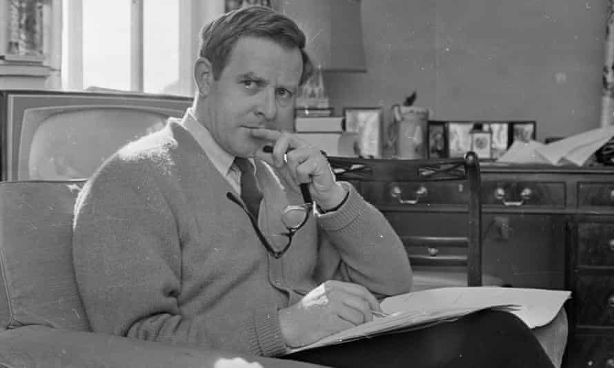 John le Carré, photographed in 1965.