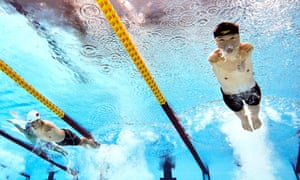 Tao Zheng of Team China competes in his men's 100m freestyle - S5 heat on day 2 of the Tokyo 2020 Paralympic Games at the Tokyo Aquatics Centre on August 26, 2021 in Tokyo, Japan. (Photo by Adam Pretty/Getty Images)