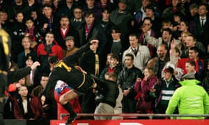 Eric Cantona's kung fu kick