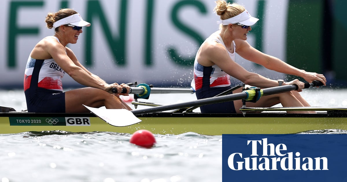 Ex-rowing partner hails 'next level' impact of Glover's Olympic return