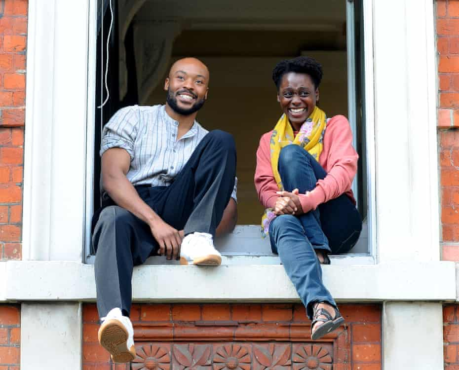 Arinze Kené and Natasha Gordon.