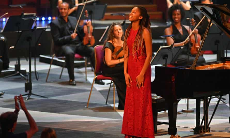 Chineke! perform in the Royal Albert Hall during the Proms.