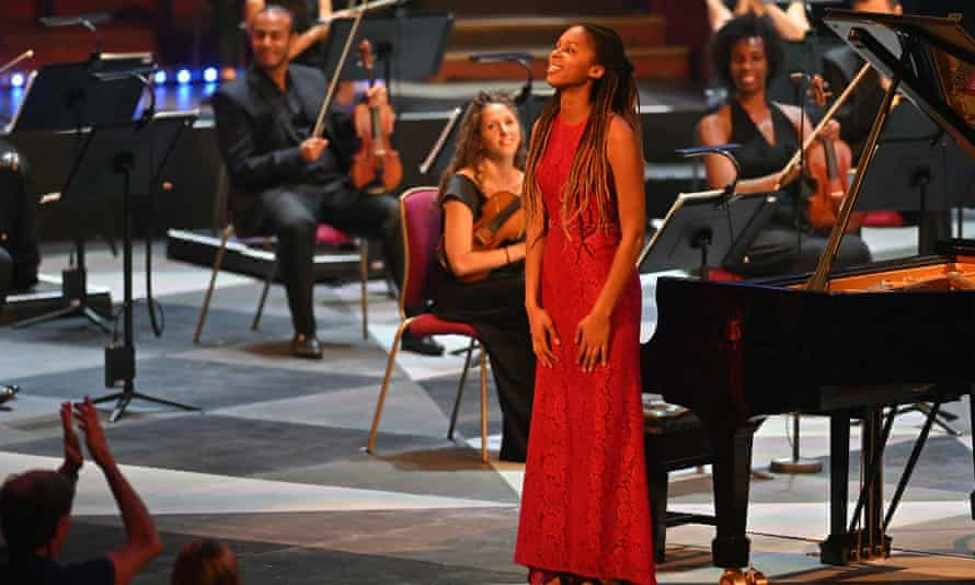 Pianist Jeneba Kanneh-Mason performs Florence Price's Concerto in One Movement at the BBC Proms.