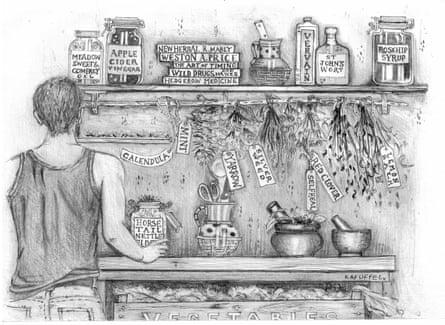 Mark Boyle using herbs for good health