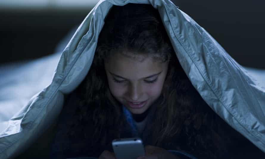 Three-quarters of US teens check messages or notifications as soon as they wake up, the Pew Research Center found. More than half of their parents do the same.