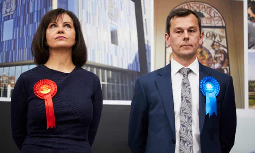 Labour's Caroline Flint lost her Don Valley seat to the Conservative Nick Fletcher
