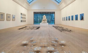 Works by Cornelia Parker on show at the Whitworth Art Gallery in Manchester in 2015