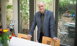Richard Dawkins at his home in Oxfordshire last year.