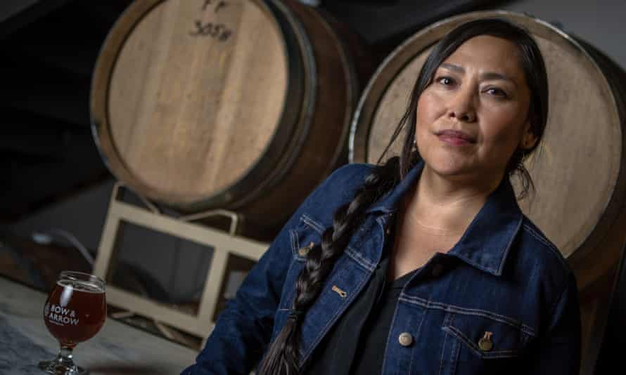 Missy Begay is a co-founder of Bow & Arrow, the only brewery in the US owned by Native American women.