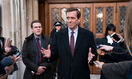 Peter Laurence (Hugh Laurie) in Roadkill