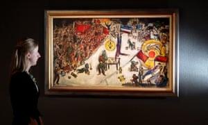 Marc Chagall's La Revolution
