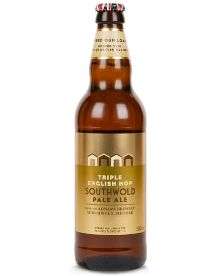 Used Our Loaf triple English hop pale ale from Marks & Spencer.