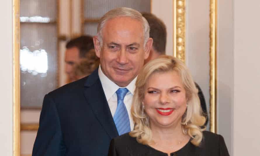 Benjamin and Sara Netanyahu.
