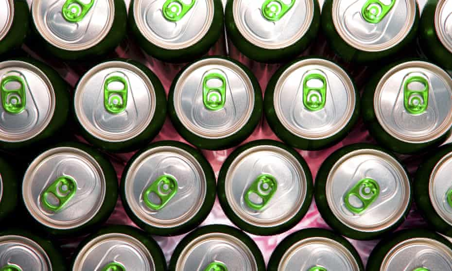Cans become objects of desire for those who can't stop drinking the sweet contents.