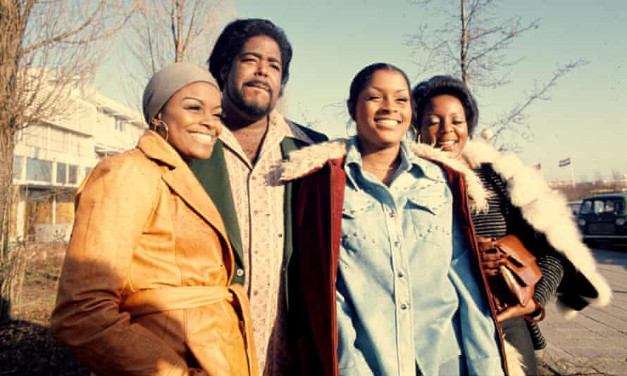 Barry White with Love Unlimited, 1974