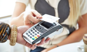 Visa said card purchases fell by 1%.
