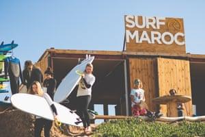 surf lesson Surf Maroc