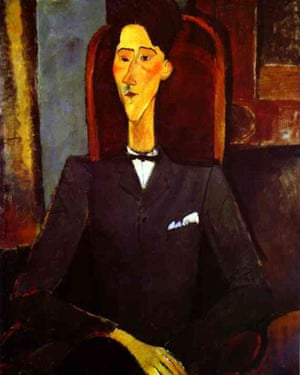 His portraits of friends, such as Jean Cocteau, reveal Modigliani's range. Photograph: Alamy