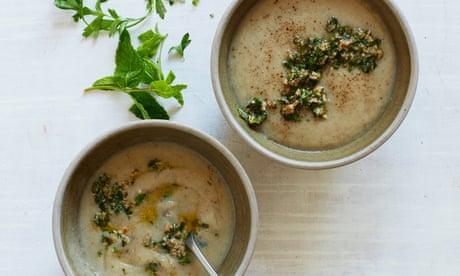 Thomasina Miers' recipe for jerusalem artichoke soup
