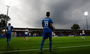 Kosovo's first official international, against the Faroe Islands in June.