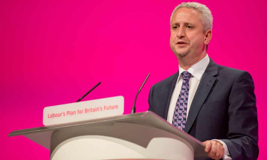 Ivan Lewis at the Labour party conference in 2014